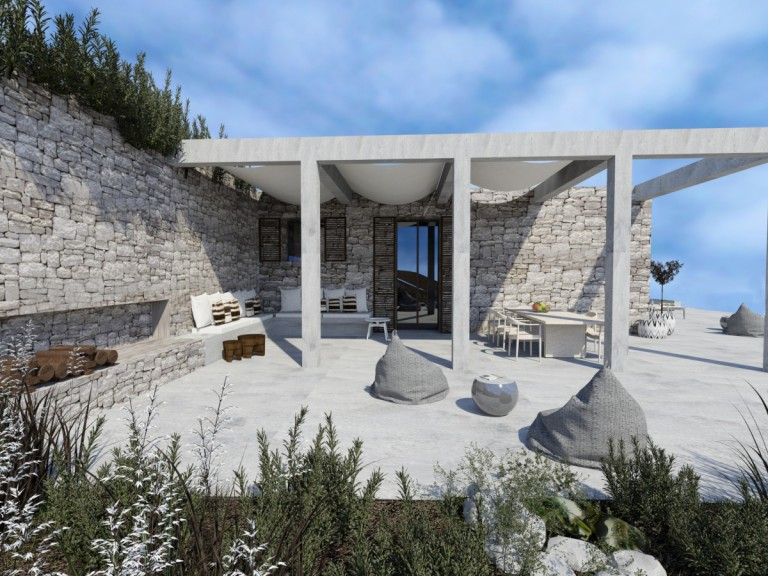 Private Residence, Vis, Croatia