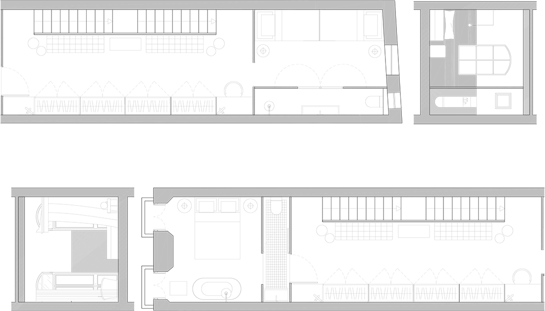 Palazzo Villanova First Floor